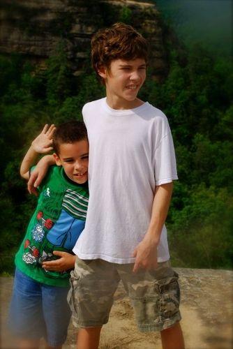 Nate and aidan